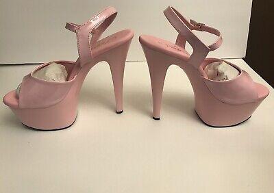 Pleaser Womens Asp609//b//m Platform Sandal