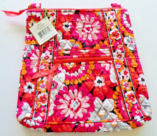 Vera bradley hipster pixie blooms crossbody shoulder bag pink vera bradley hipster pixie blooms crossbody shoulder bag pink flowers j8 mightylinksfo