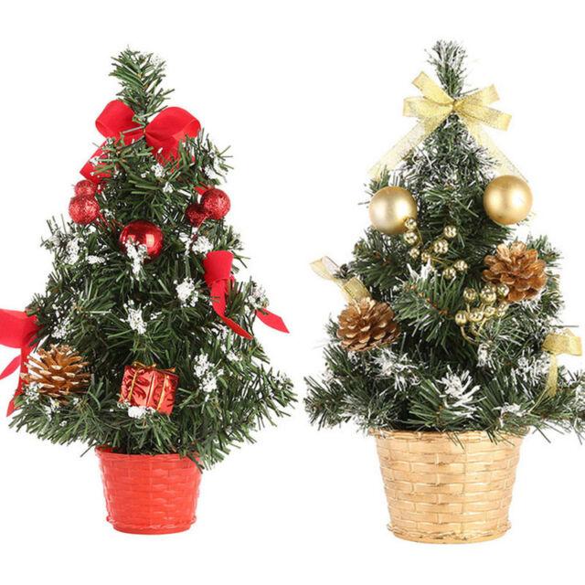 Günstig Weihnachtsdeko Kaufen.Weihnachtsbaum Mini Weihnachtsdeko 30cm Schreibtisch Baum Künstlich Christbaum