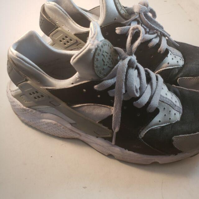 Nike Air Huarache Wolf Grey Gray 318429-033 Men's Size 11