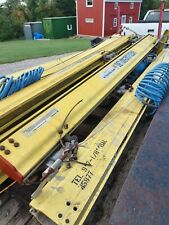 Unified Industries Inc 9 Enclosed Rail Track Rail Crane With Roller