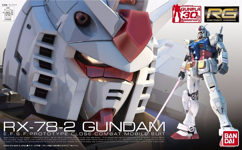BANDAI RG 1 144 RX-78-2 GUNDAM Plastic Model Kit NEW from Japan