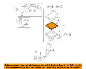 BMW-OEM-11-16-535i-xDrive-Engine-Air-Cleaner-Filter-Element-13717605913
