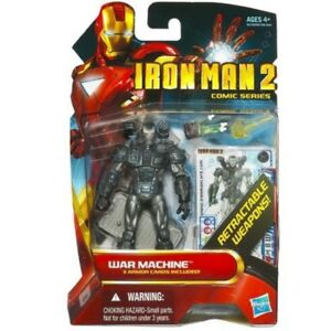 Marvel-Iron-Man-2-Comic-Serie-Kriegsmaschine-3-75-034-Action-Figur