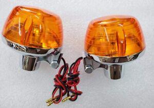 Honda-CB100-CB350-CB450-CB500-CB750-Dual-Filament-Front-Turn-Signal-Set