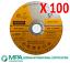 "BULK 5/"" 125mm Cutting Discs Wheel Thin Angle Grinder Cut Off Metal Steel Flap"