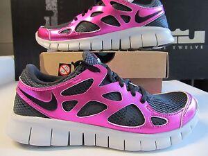 0d5c0db7a8ca DS Womens Nike Free Run + 2 PRM PREMIUM EXT  110 Black Rave Pink ...