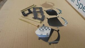 Triumph STAG ** BRAKE PAD FITTING KIT * Inc Anti Squeal shims in stainless steel