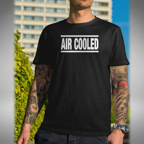 Air Cooled Mens T-Shirt Superbike Motorbike Bikes Road Bike Biker Car Boat