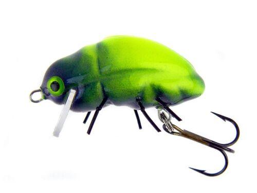surface micro lures Esche MOLTI COLORI 24mm 1,6g floating Microbait Carabu
