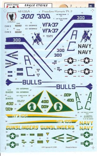 F//A-18C Eagle Strike 48-128 Freedom Hornets Pt.2