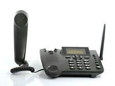 Wireless Unlocked GSM Desk Phone Sim Card SMS Function, Speaker, Telephone, Mic