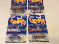 Hot Wheels Surf 'n Fun Series 1999 4 Car Set