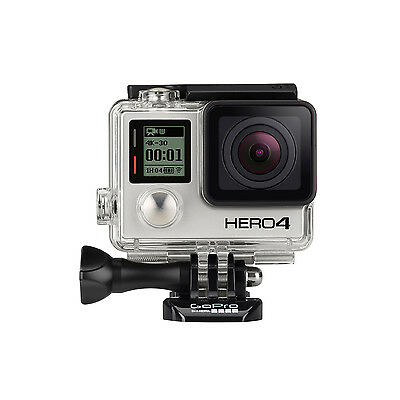 GoPro HERO4 Silver Edition Caméra d'Action – Officiellement Remis à Neuf