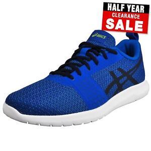 ASICS kanmei Homme Chaussures De Course Fitness Gym Entraînement Baskets Bleu