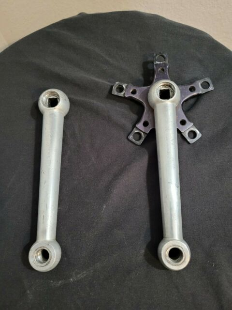 Cook Bros Racing Crankset 1984 Cranks CBR 171 Dog Bones 110 BCD Old School BMX