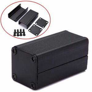Extruded-PCB-Aluminum-Box-Black-Enclosure-Electronic-Project-Case-50-25-25mm-Hot