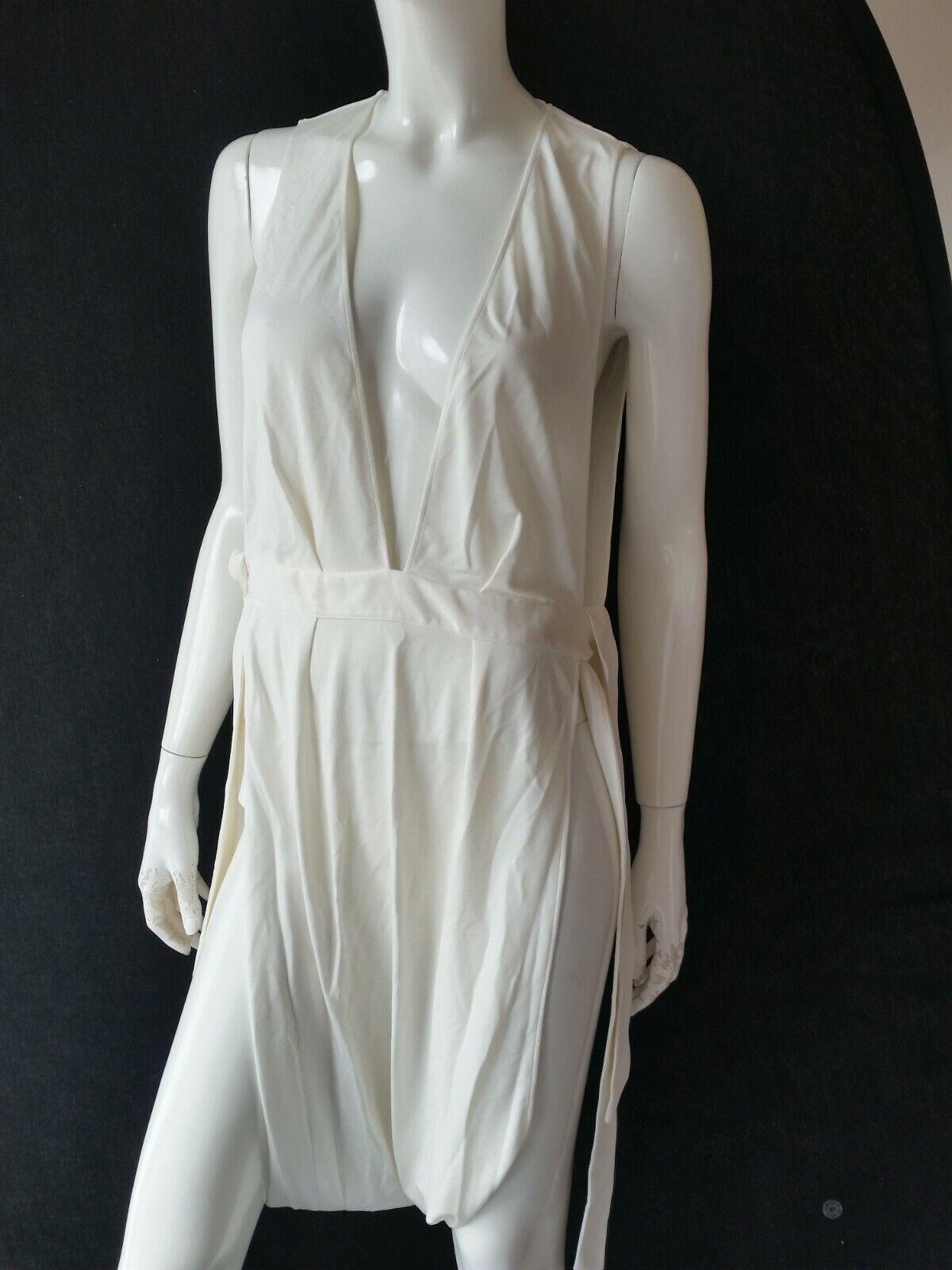 La Perla Beach Dress White Size 40 = UK16 = IT46 -- RRP Euro 380 *** NEW