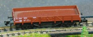 FLEISCHMANN-8200K-DB-low-sided-wagon-034-BOXED-034-N-Gauge-F65