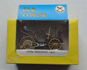 Igra-CSSR-Model-039-Old-Timer-Tatra-President-1897-039-Scale-1-36-Boxed