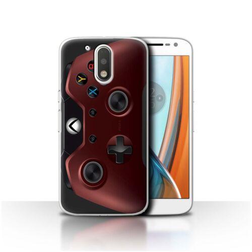 Stuff 4 teléfono caso//cubierta trasera para Motorola Moto G4 2016//Jugador//Xbox One