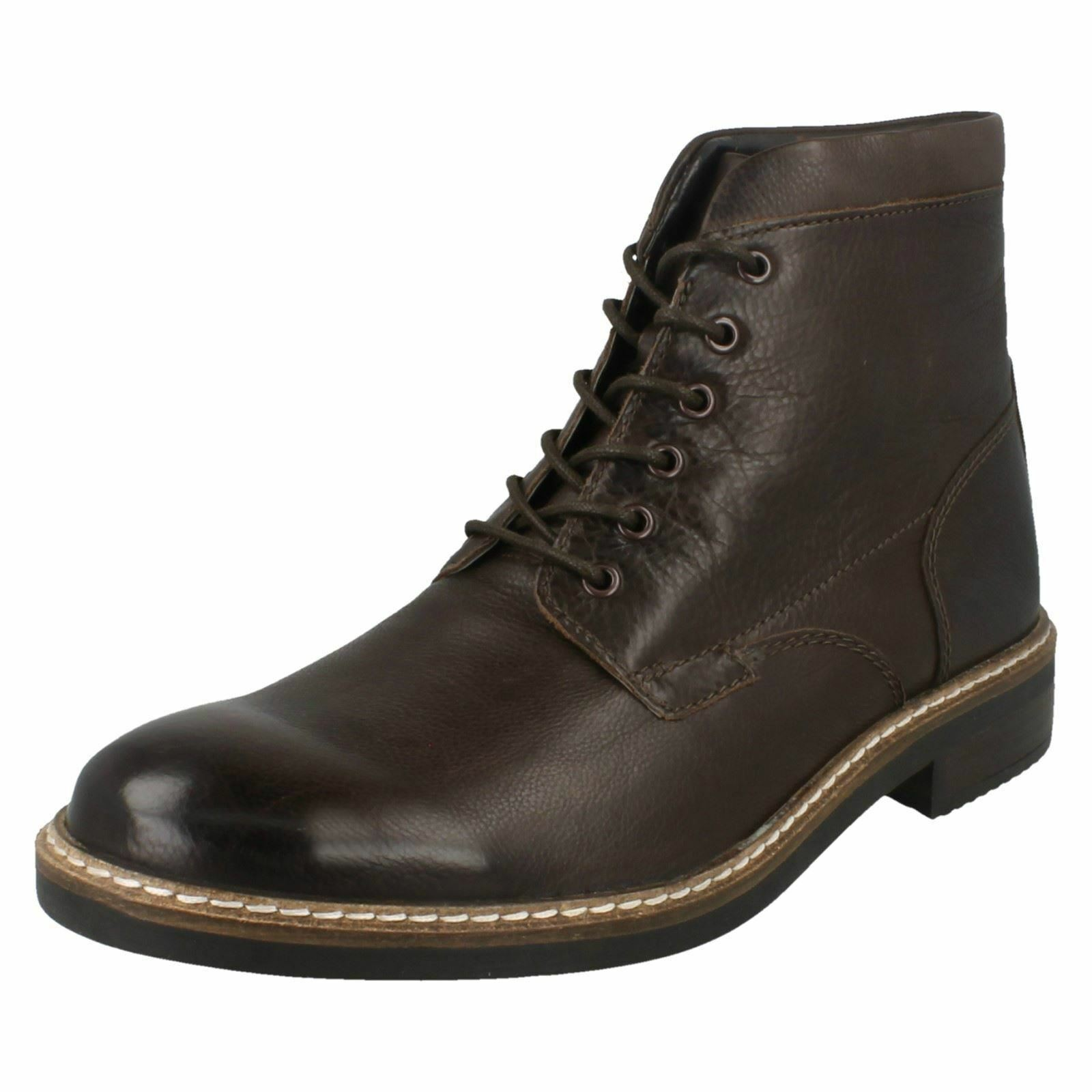 Mens Clarks Smart Ankle Boots 'Blackford Hi' size 8&8.5