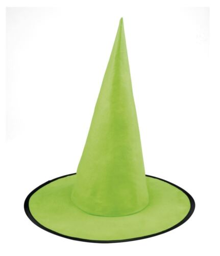 Girls Pointed Witch Hat Halloween Fancy Dress Costume Accessory
