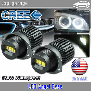 160W-CREE-LED-Angel-Eyes-Halo-Ring-Light-2006-2008-BMW-E90-323i-328i-330xi-335i
