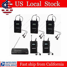 Takstar WPM-200 Wireless In-Ear Stereo Monitor System 1 Transmitter 5 Receivers