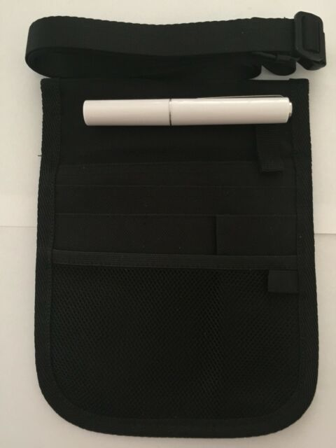 Black Colour Double Sided Nurse Pouch With A Torch