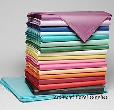 50 Blatt Seidenpapier 76 x 51 cm Verschiedene Farben