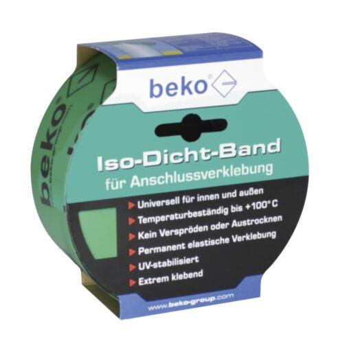Dampfbremse Außenverklebung 25m ISO DICHT Band grün f