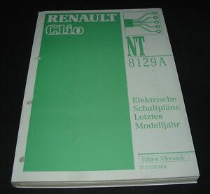 Auto & Motorrad: Teile Brillant Werkstatthandbuch Elektrik Renault Clio Typ 57 Elektrische Schaltpläne 1998