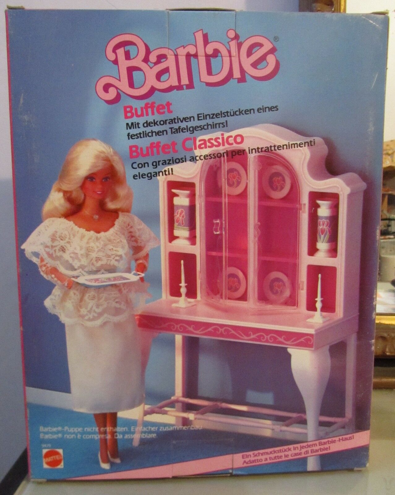 Barbie Buffet Classico art. 9479 Mattel anni 80 fondo di magazzino