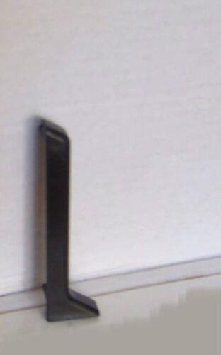 Innenecke oder Außenecke oder Endkappe für Kernsockelleiste 60 mm