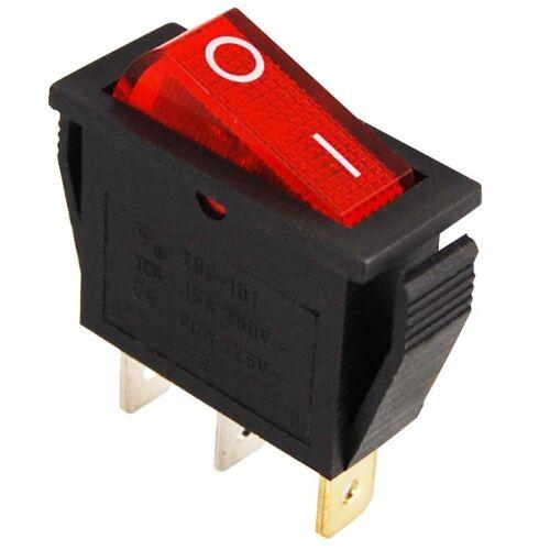 INTERRUTTORE illuminato oltre ad ascoltare tutte Interruttore fluorescenti-interruttore rosso interruttori