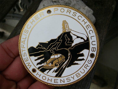1st. PORSCHE CLUB in history - WESTFAELISCHER PORSCHE CLUB HOHENSYBURG Badge