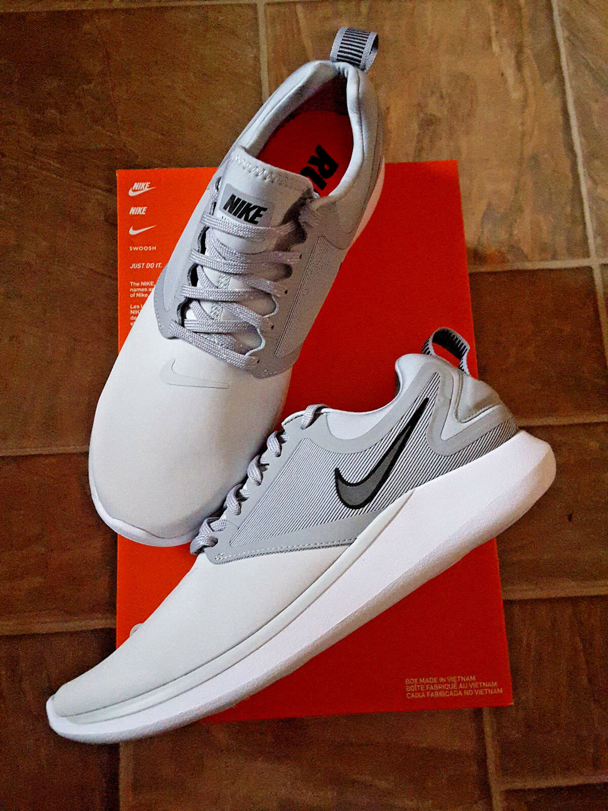 New NIKE Lunarsolo Light chaussures  Gris  homme chaussures Light 4b4141
