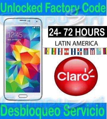 Schnelle Lieferung Unlock Service Claro Puerto Rico Samsung Galaxy S8 S7 S9 Note 8 Eine GroßE Auswahl An Waren