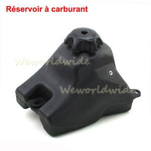 Calibre 50 réservoir d/'essence pour 110cc Chine Mini Dirt Pit Bike Noir Top fuel valve