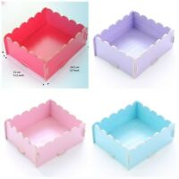 Diy Paper Board Desk Storage Box Stationery Cosmetic Makeup Organizer Tray Small