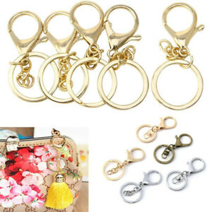 DIY-Jewelry-Making-Clips-Bag-Hook-KeyRing-Lobster-Clasp-Split-Ring-Key-Chain