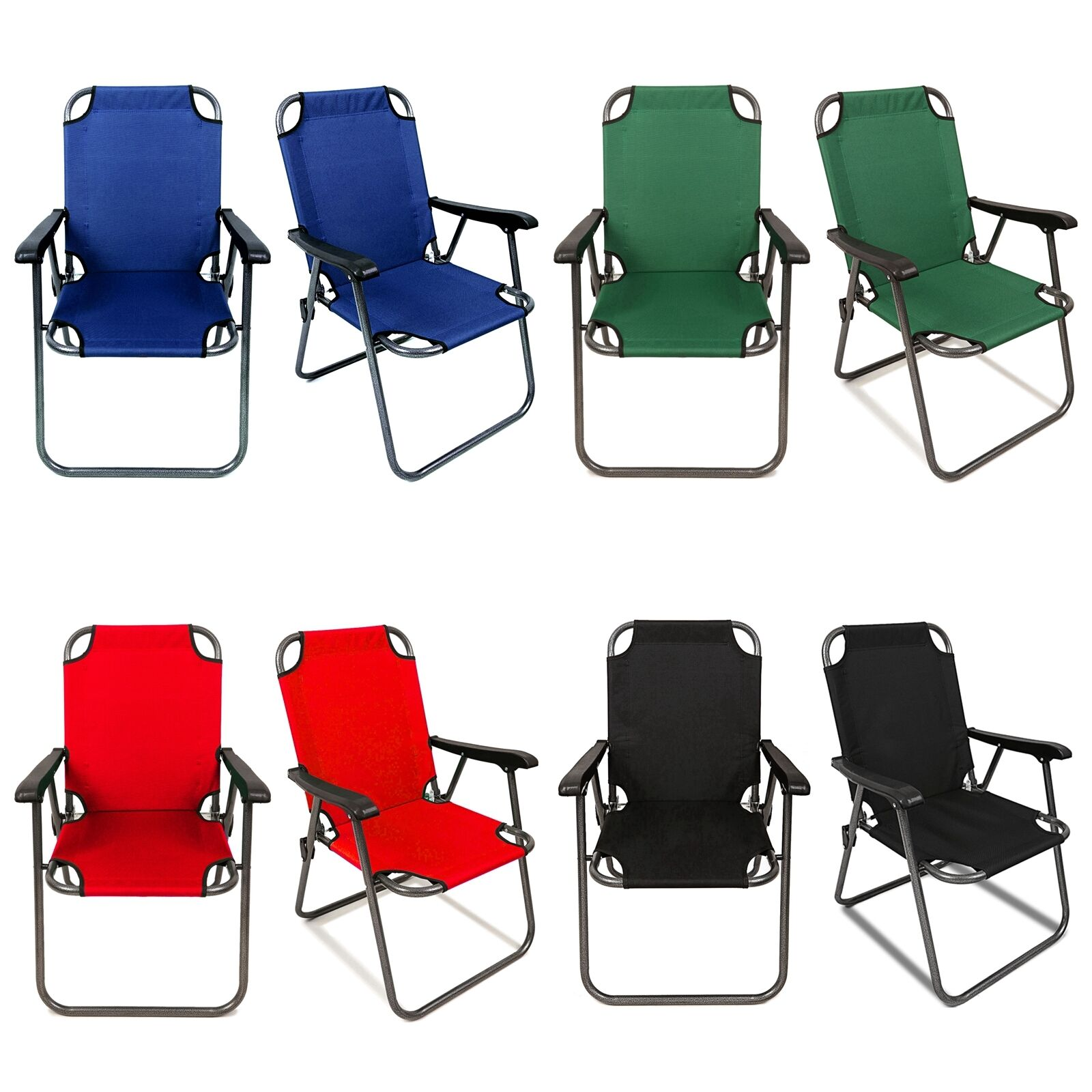2 Portable Folding Chair Beach Lightweight Travel Patio Outdoor Sport Yard