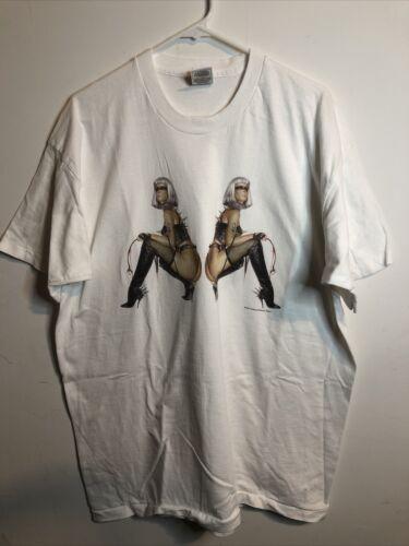 vintage sorayama Graphics T Shirt 1997 Size 2XL