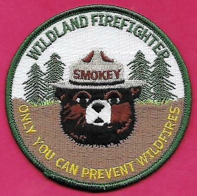 ⫸ Smokey Bear 75th Birthday Patch Forest Service Embroidered Patch New in bag