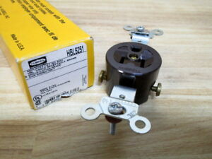 Hubbell HBL 5251 Receptacle HBL5251