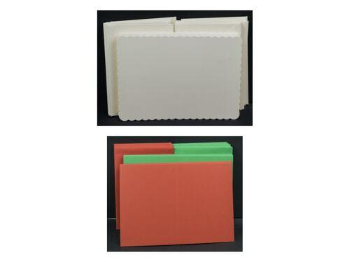 """5/"""" x 7/"""" cartes avec des enveloppes-large sélection"""
