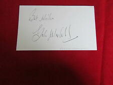 Gordon MARSHALL  Nottingham Forest  1960's Original Hand Signed  FOOTBALL Card