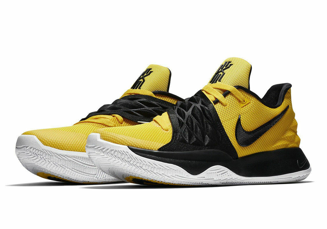 479dc34258c3a3 NEW Sz 16 Men s Nike Nike Nike Kyrie Low 1 yellow Yellow Black Australia  AO8979-