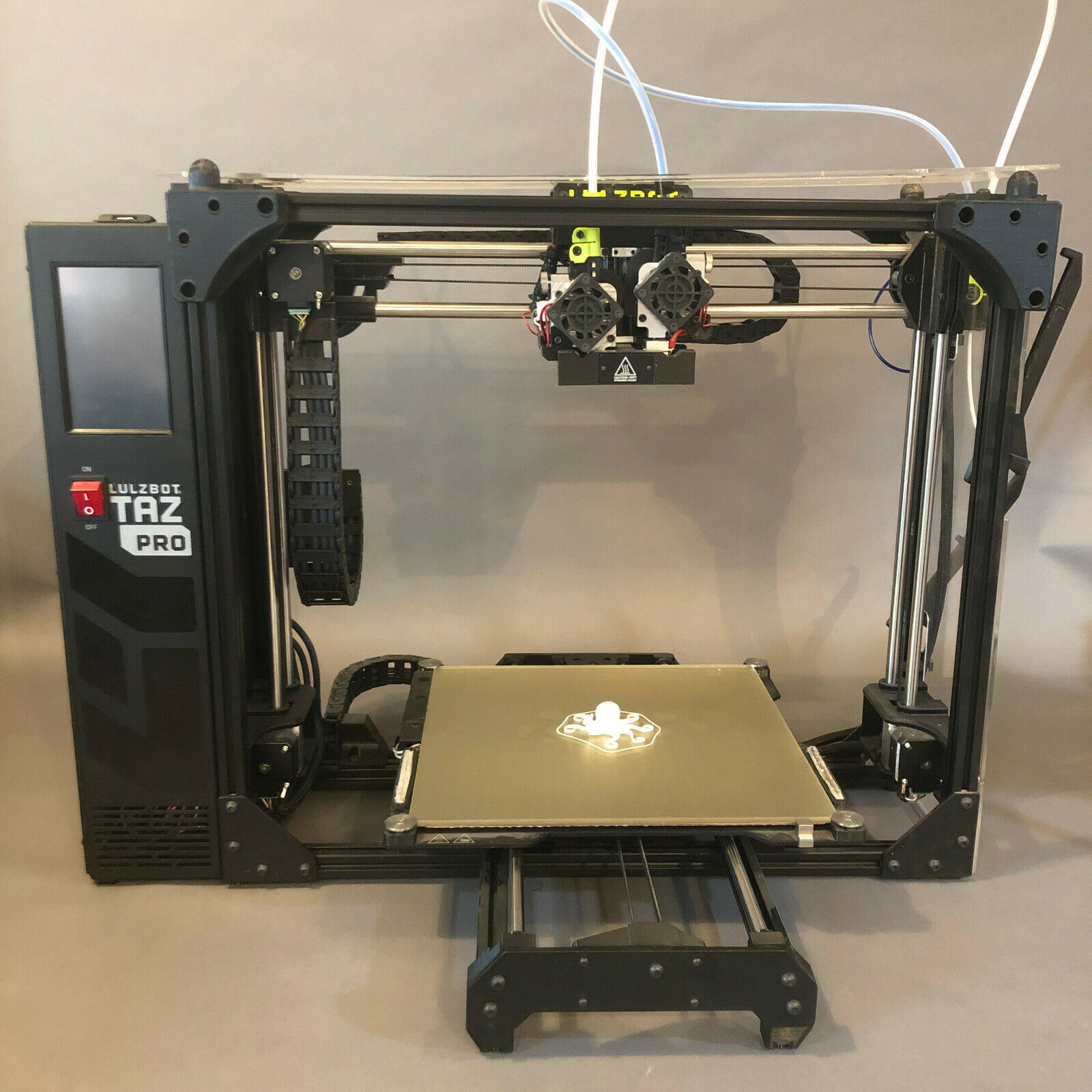 LulzBot TAZ Pro 3D Printer with Dual Extruder and Custom Enclosure